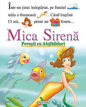Povesti cu abtibilduri - Mica sirena