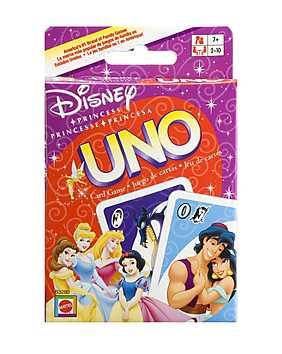 Joc Uno, Printesele Disney