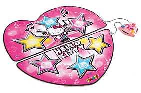Covoras pentru dans Hello Kitty, roz