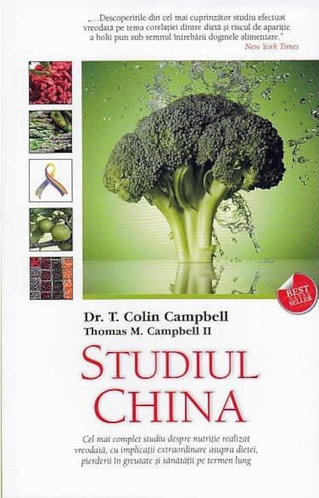 T. Colin Campbell, Thomas M. Campbell II - Studiul China -