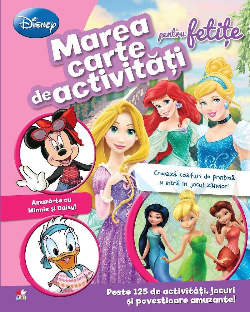 Marea carte de activitati pentru fetite
