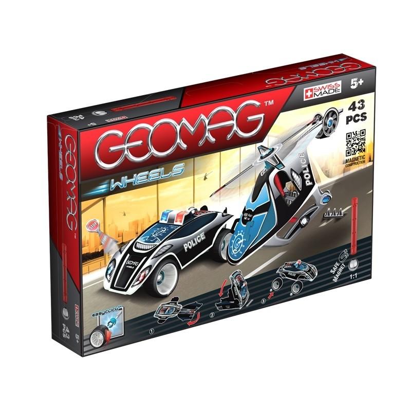 Geomag Wheels, set 43 piese