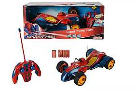 Majorette - Spider-Man, Masina RC Web Twister