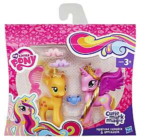 My Little Pony, Set Printesa Cadance & Applejack