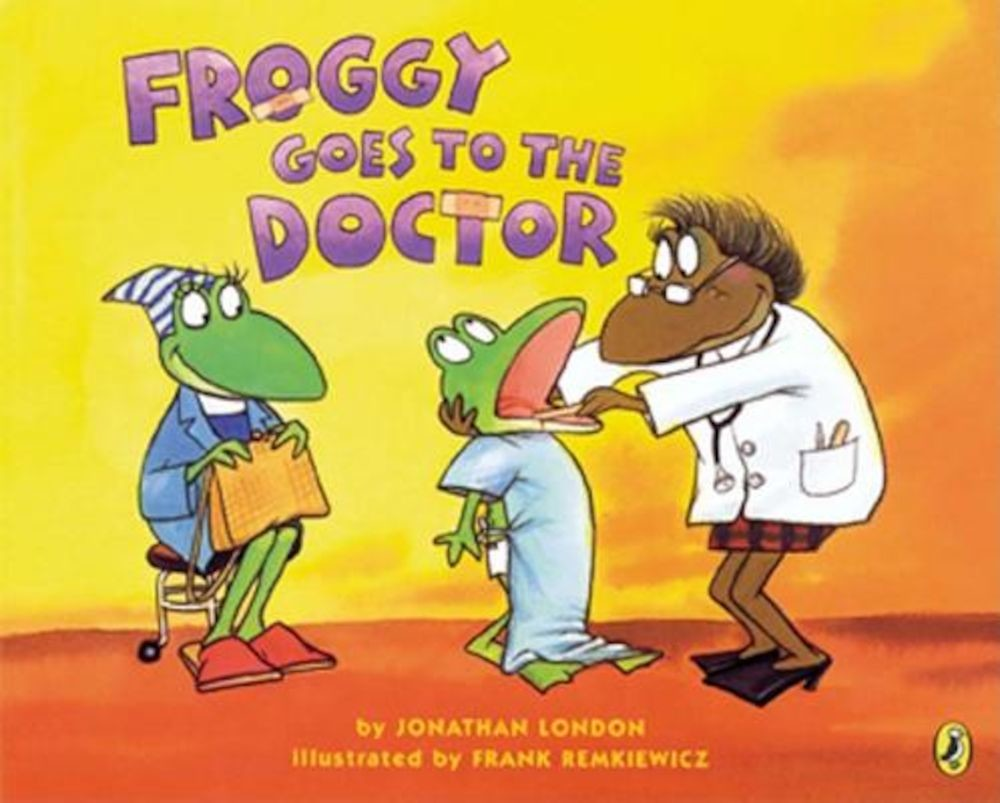 Froggy Goes to the Doctor, Paperback pdf pret librarie elefant oferta