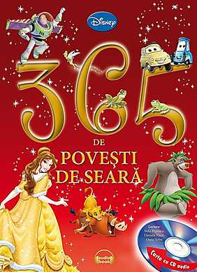 365 de povesti de seara (carte+CD) -