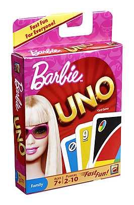 Joc Uno, Barbie