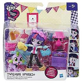 My Little Pony, Set Equestria Girls Minis - Petrecere in pijamale, Twilight Sparkle