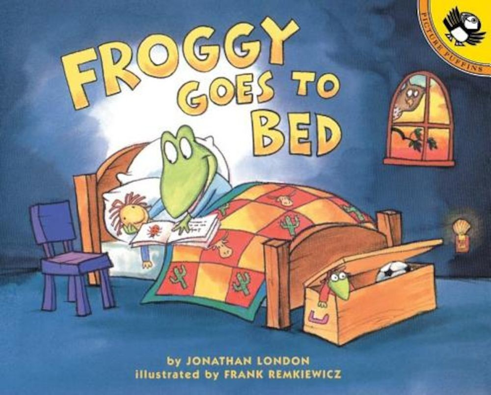 Froggy Goes to Bed, Paperback pdf pret librarie elefant oferta
