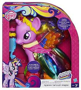 My Little Pony, Figurina ponei Fashion - Printesa Twilight Sparkle
