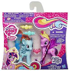 My Little Pony, Set Printesa Twilight Sparkle & Rainbow Dash