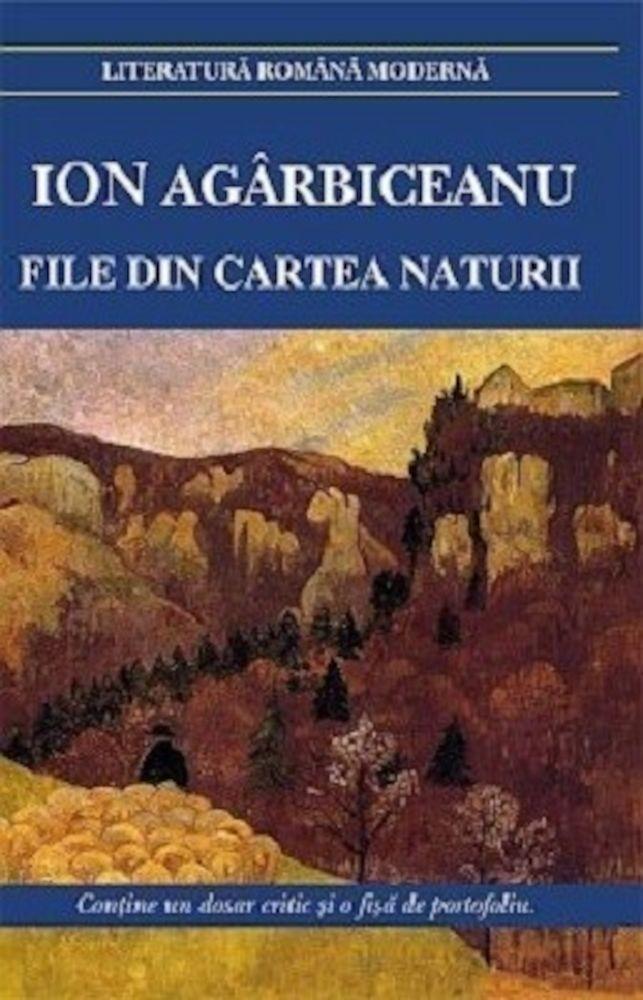 File din cartea naturii de ion agarbiceanu