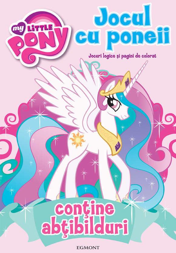 ... varsta 4 - 7 ani Jocul cu poneii. Jocuri logice si pagini de colorat
