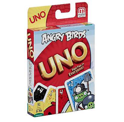 Joc Uno, Angry Birds