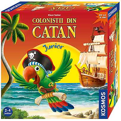 Jucarie - Colonistii din Catan - Junior -