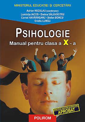 Psihologie. Manual pentru clasa a X-a - Array
