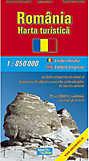 Romania - Harta Turistica
