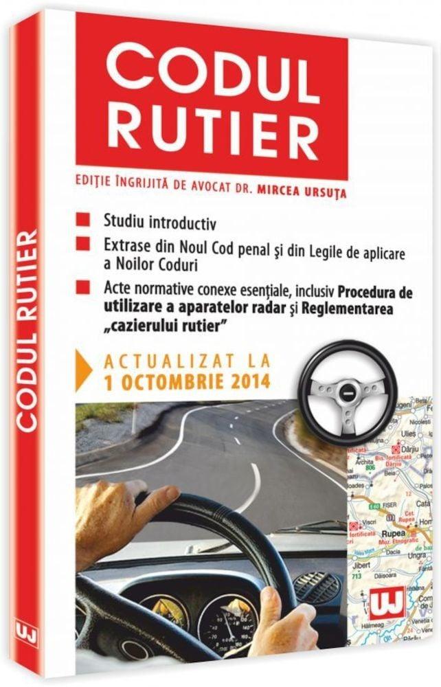 pdf epub ebook Codul rutier. Actualizat la 1 octombrie 2014