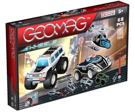 Geomag Wheels, set 68 piese