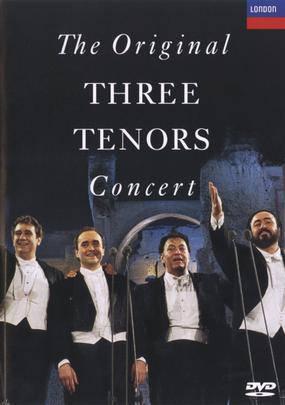 The Original Three Tenors Concert - Array