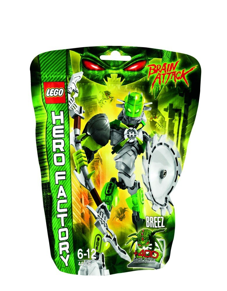 LEGO - LEGO Hero Factory - Brain Attack, Breez -