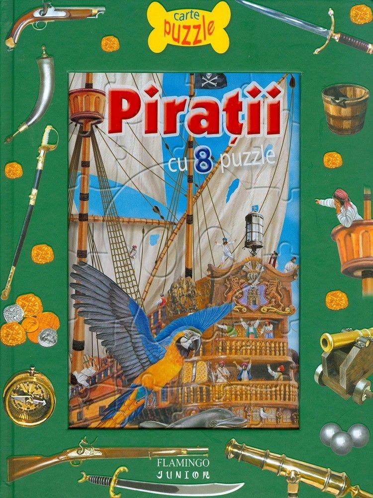 Piratii, carte cu puzzle