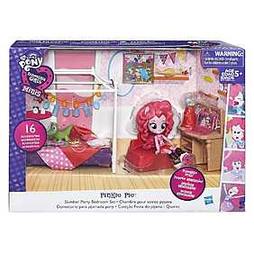 My Little Pony, Set Equestria Girls Minis - Petrecere in pijamale