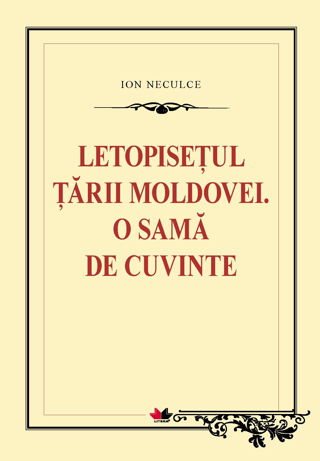 Letopisetul tarii moldovei de ion neculce online dating