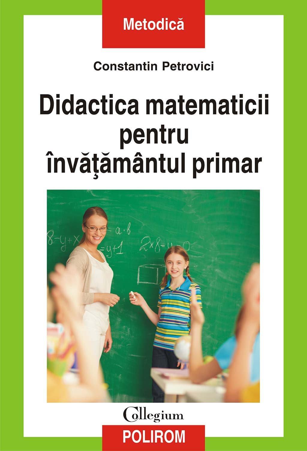 Didactica matematicii pentru invatamantul primar (eBook) pdf pret librarie elefant oferta