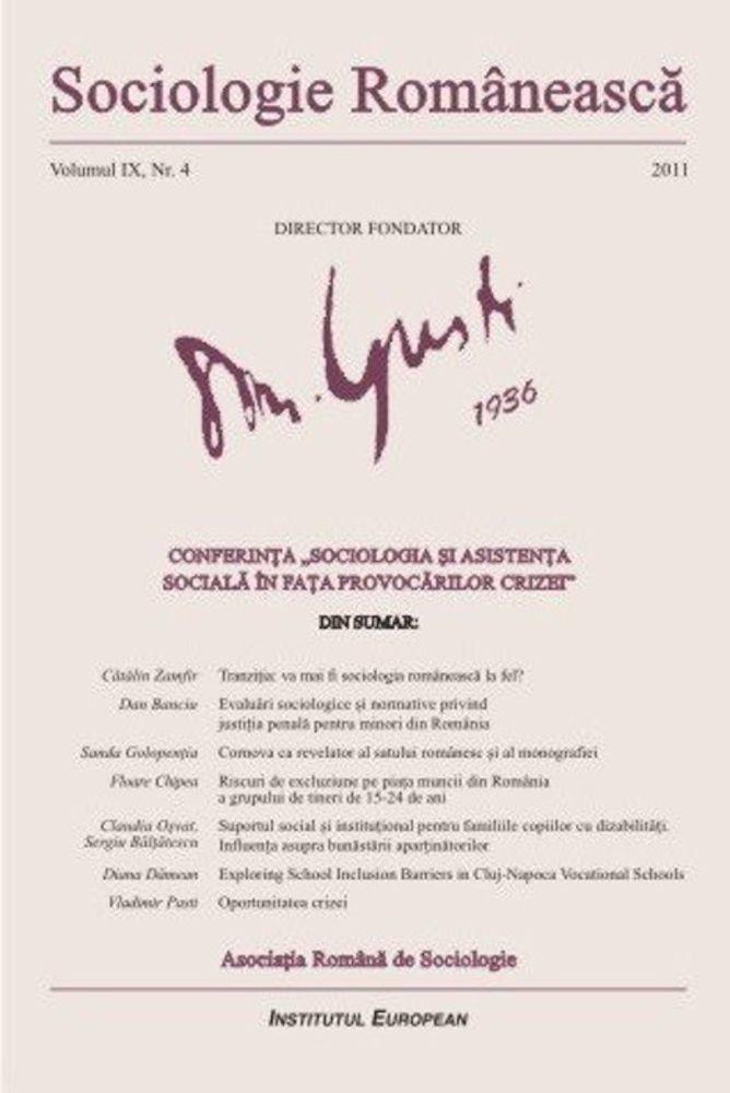 pdf epub ebook Sociologie Romaneasca. Vol. IX, Nr. 4