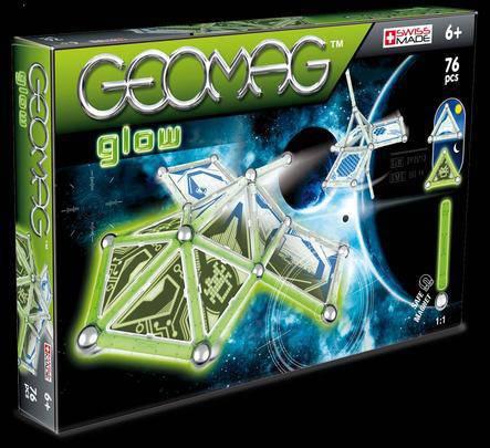 Geomag Kids Panel Glow, 76 piese