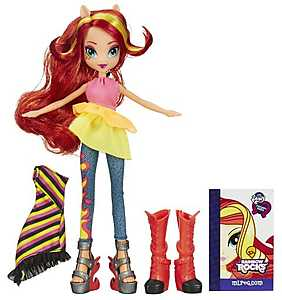 My Little Pony, Papusa Equestria Fashion - Sunset Shimmer