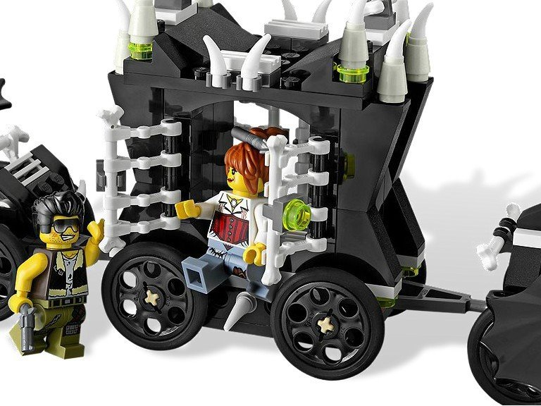 LEGO - LEGO Monster Fighters, Trenul fantoma -